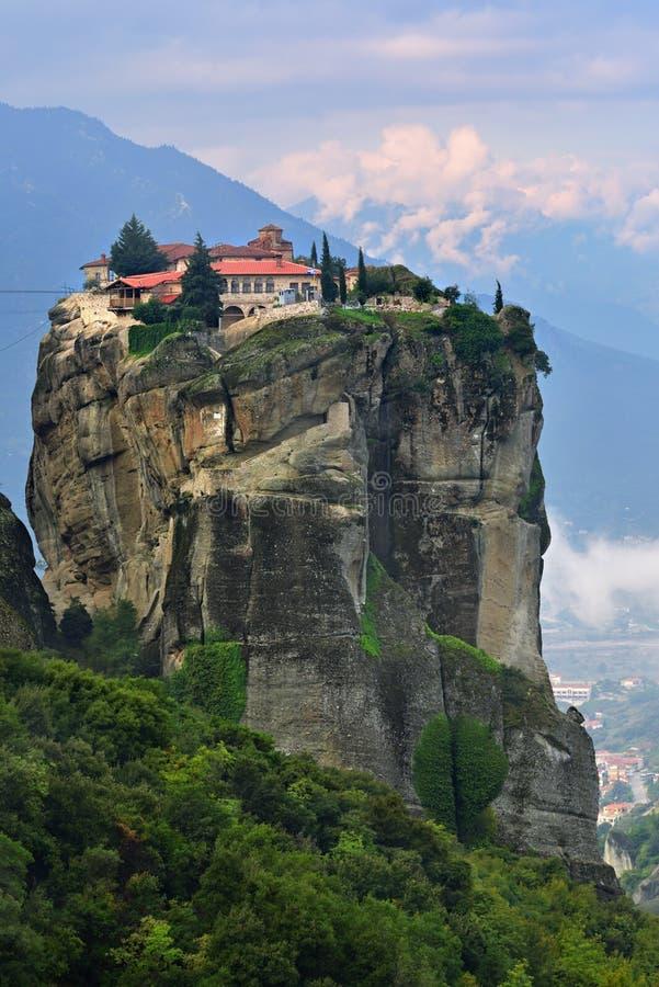 Monasterios de Meteora Grecia fotos de archivo