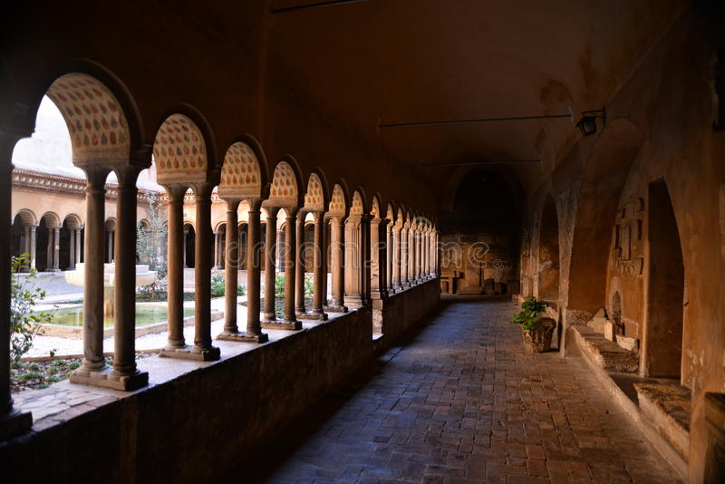 Monastero Agostiniano Quattro Coronati, Roma, Itália fotos de stock