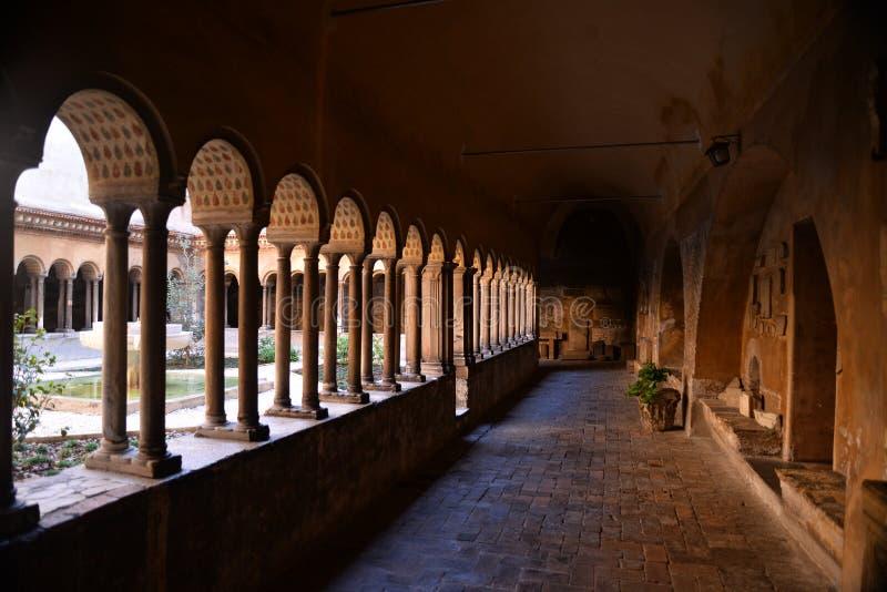 Monastero Agostiniano Quattro Coronati, Rzym, Włochy zdjęcia stock