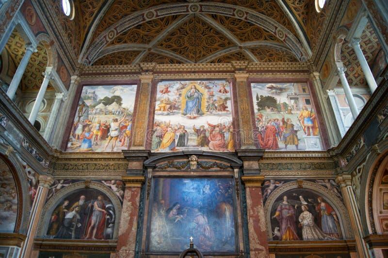 Monastero Al SAN Maurizio maggiore στοκ φωτογραφία με δικαίωμα ελεύθερης χρήσης