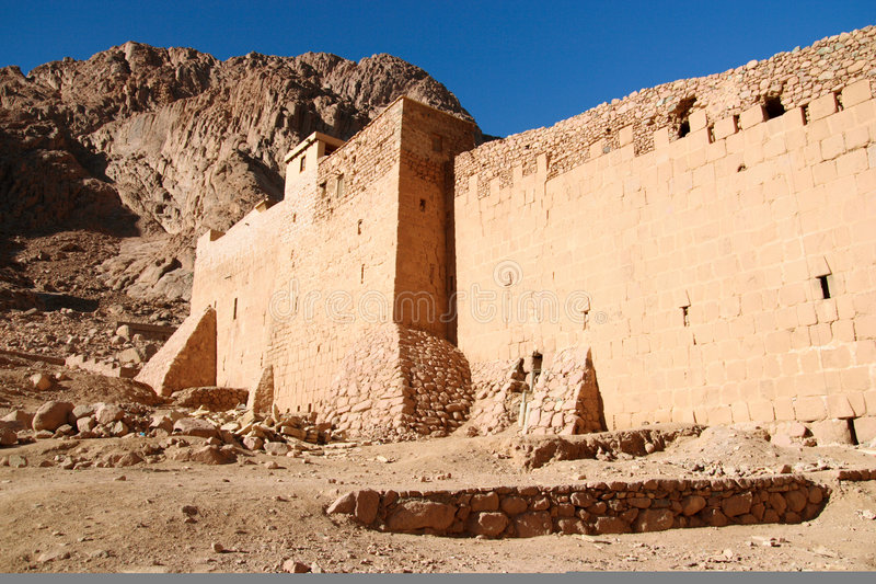 Monastero antico immagine stock