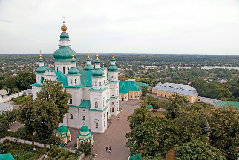 Monastero in Cernihiv, Ucraina della trinità immagini stock libere da diritti