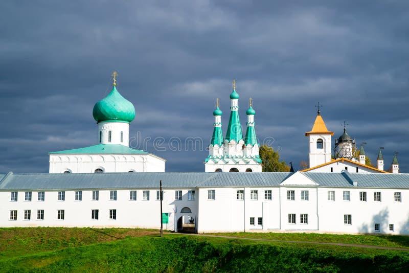 Monastero del Alexander Svirsky in Russia fotografia stock