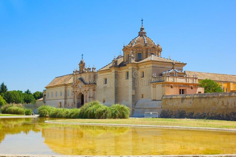 Monastero del Cartuja, Sevilla, Spagna immagini stock libere da diritti