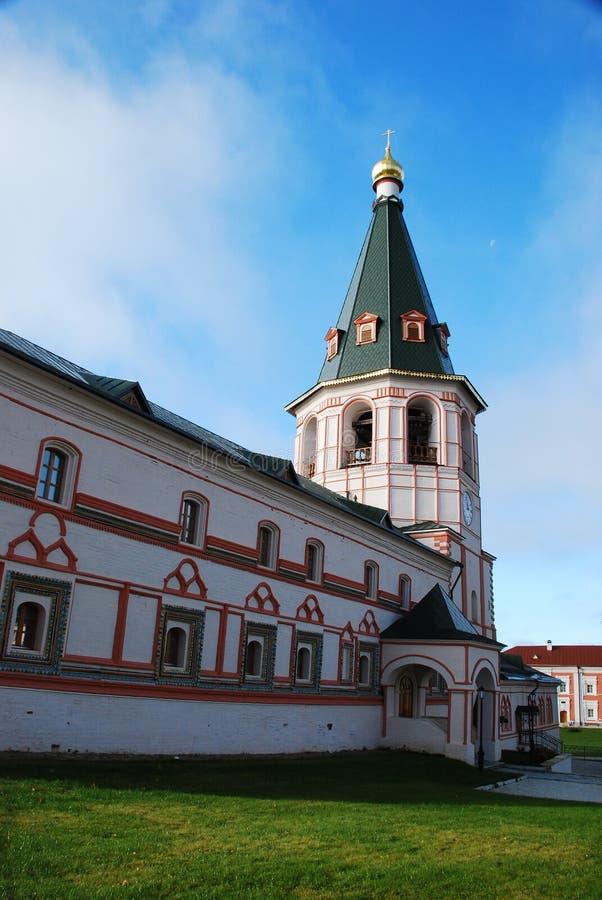 Monastero del cristiano di Iversky fotografie stock