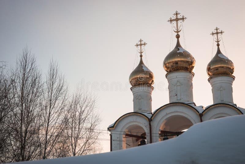Monastero del ` s delle donne di Svyato Nikolsky Pereslavl in Pereslavl Zalessk fotografia stock libera da diritti