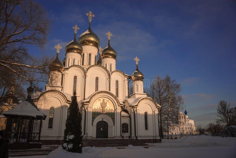 Monastero del ` s delle donne di Svyato Nikolsky Pereslavl in Pereslavl Zalessk immagini stock libere da diritti
