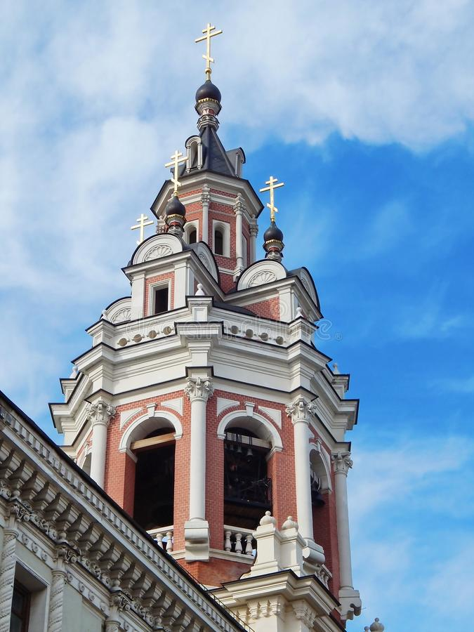 Monastero del monastero santo di Zaikonospassky o di Mandylion immagini stock libere da diritti