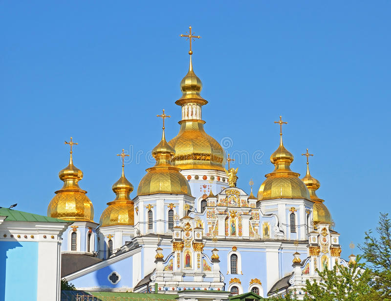 Monastero della st Michael a Kiev fotografia stock libera da diritti