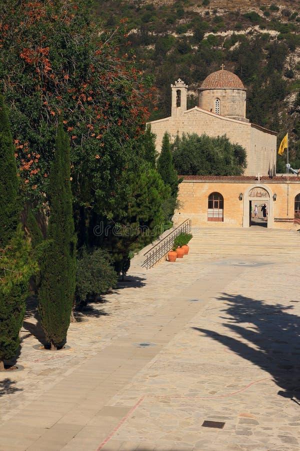 Monastero della st Neofitas Pafo cyprus fotografia stock