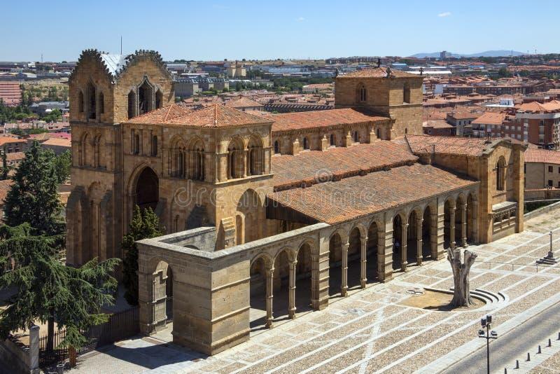 Monastero di Avila - Spagna immagine stock