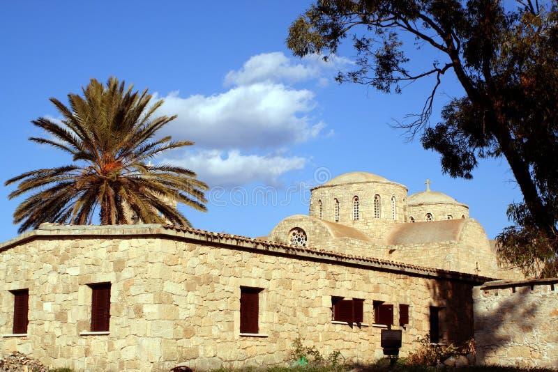 Monastero di Barnabas del san immagini stock libere da diritti