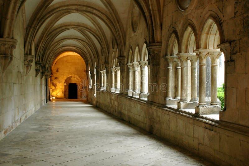 Monastero di Batalha fotografia stock libera da diritti
