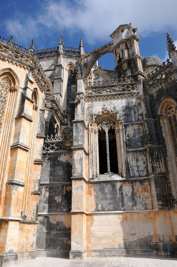 Monastero di Batalha immagine stock