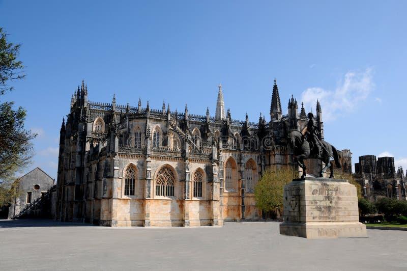 Monastero di Batalha immagine stock libera da diritti