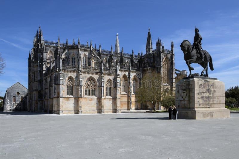 Monastero di Batalha - Batalha - Portogallo fotografia stock