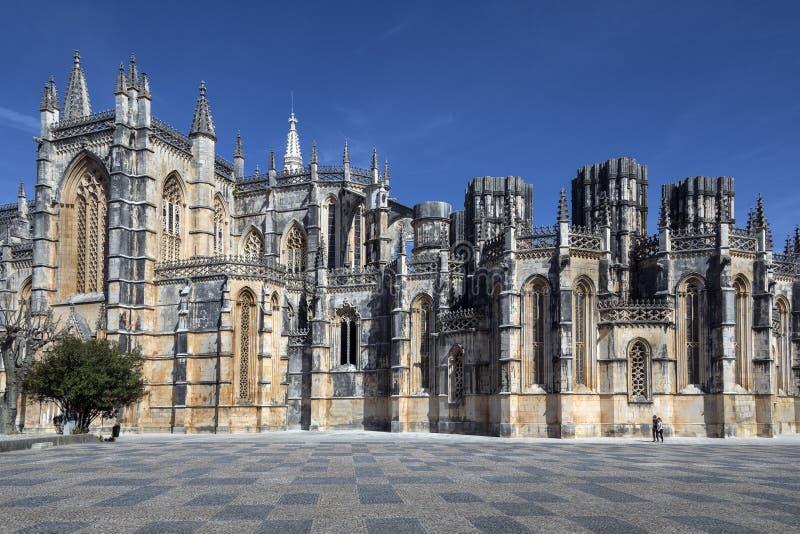 Monastero di Batalha - Batalha - Portogallo fotografie stock