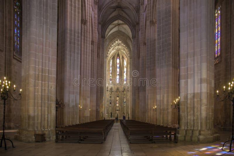 Monastero di Batalha - il Portogallo immagini stock