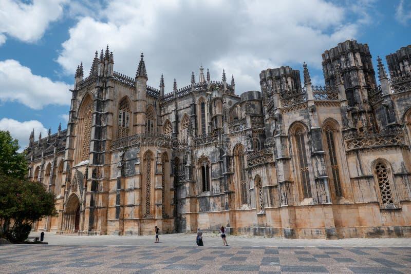 Monastero di Batalha, Portogallo immagine stock