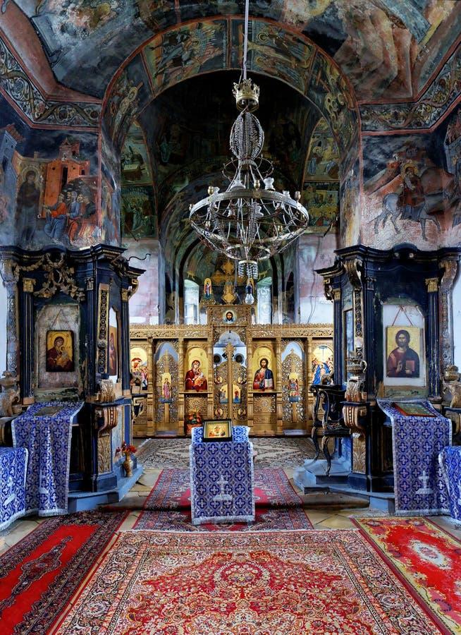 Monastero di Bezdin fotografia stock libera da diritti