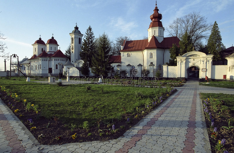 Monastero di Bodrog immagini stock libere da diritti