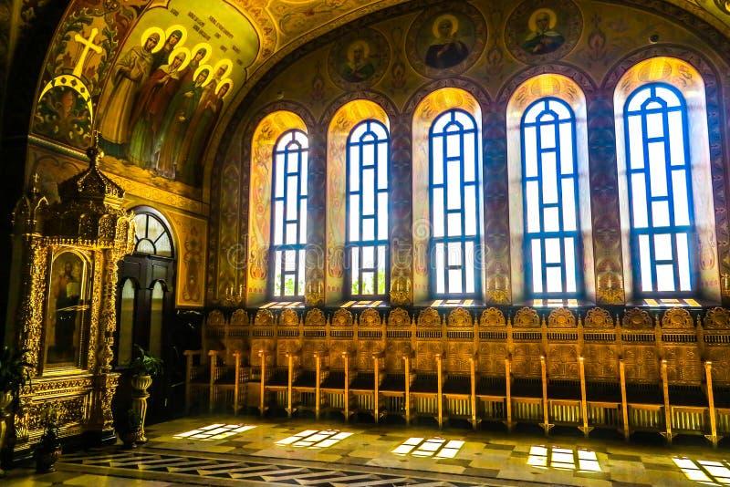 Monastero 21 di Cernivci Banchensky fotografia stock libera da diritti