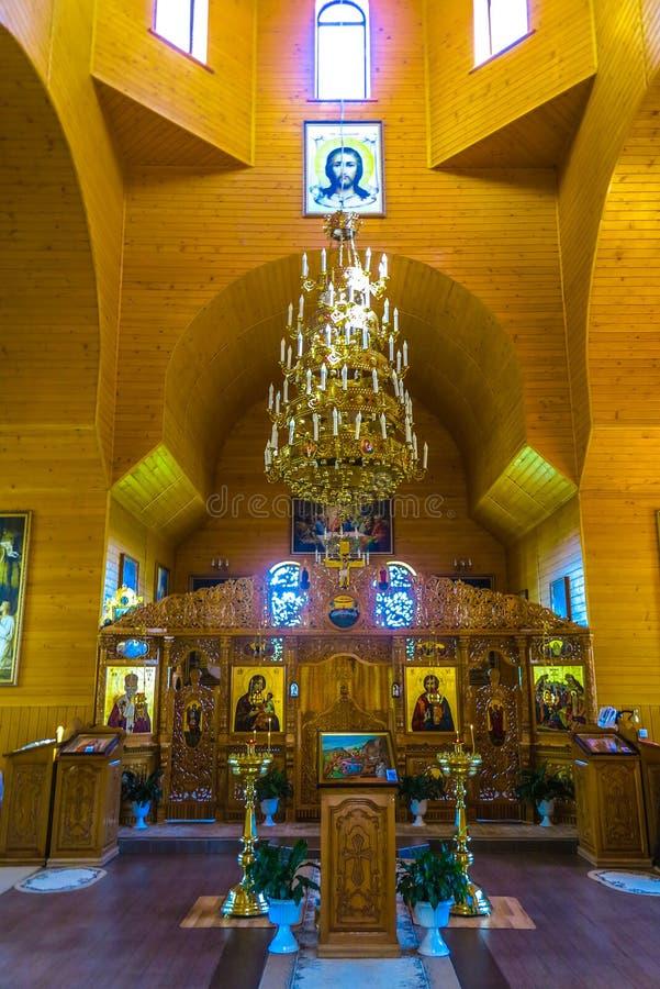 Monastero 13 di Cernivci Banchensky fotografia stock libera da diritti