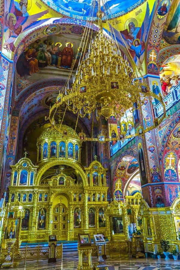 Monastero 17 di Cernivci Banchensky immagini stock libere da diritti