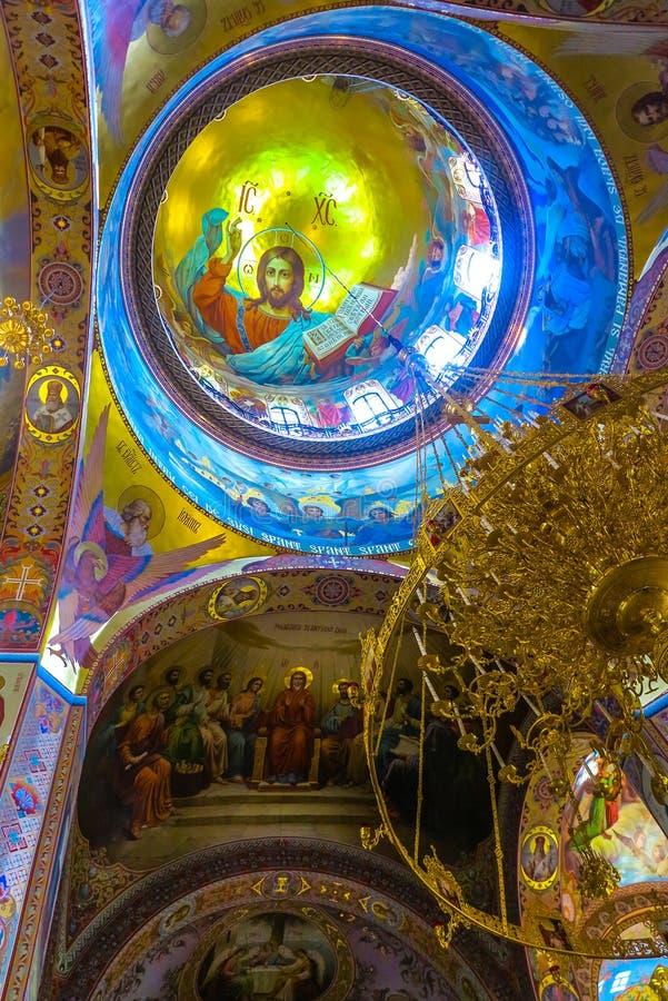 Monastero 19 di Cernivci Banchensky fotografie stock libere da diritti