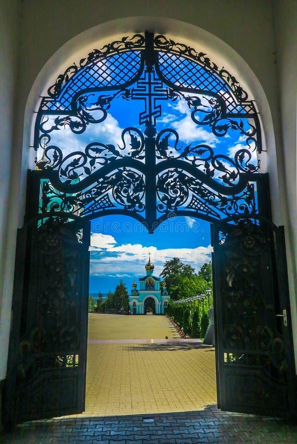 Monastero 11 di Cernivci Banchensky fotografie stock