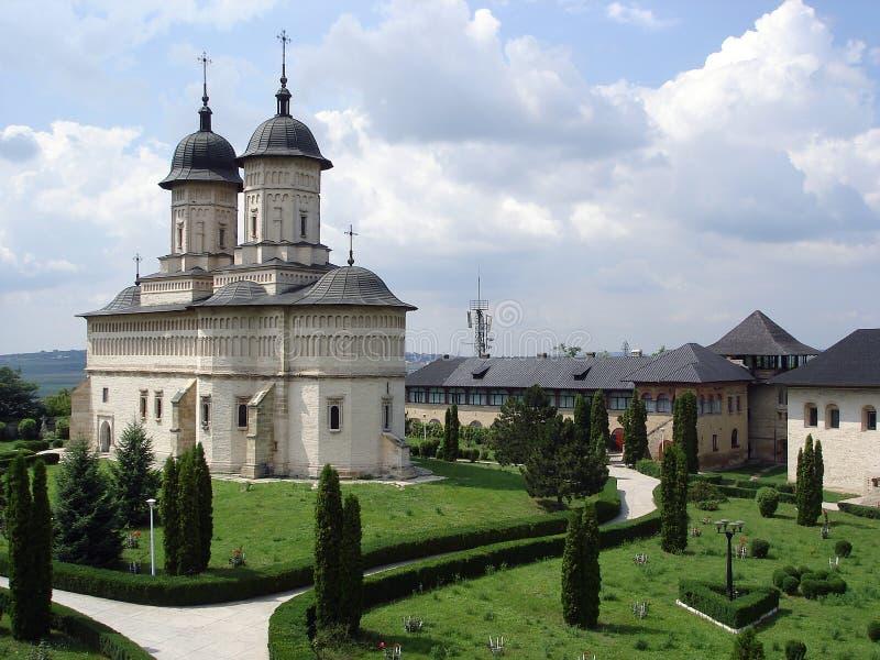 Monastero di Cetatuia immagini stock