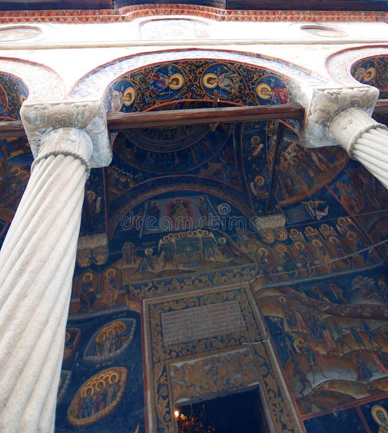 Monastero di Cozia fotografia stock libera da diritti