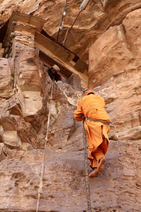 Monastero di Debre Damo, Etiopia fotografia stock libera da diritti