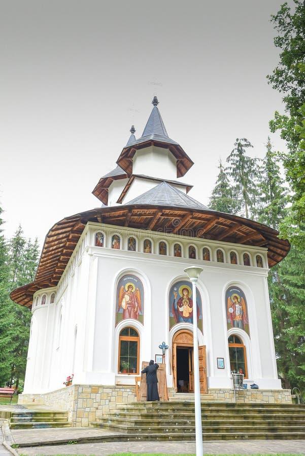 Monastero di Durau immagini stock libere da diritti