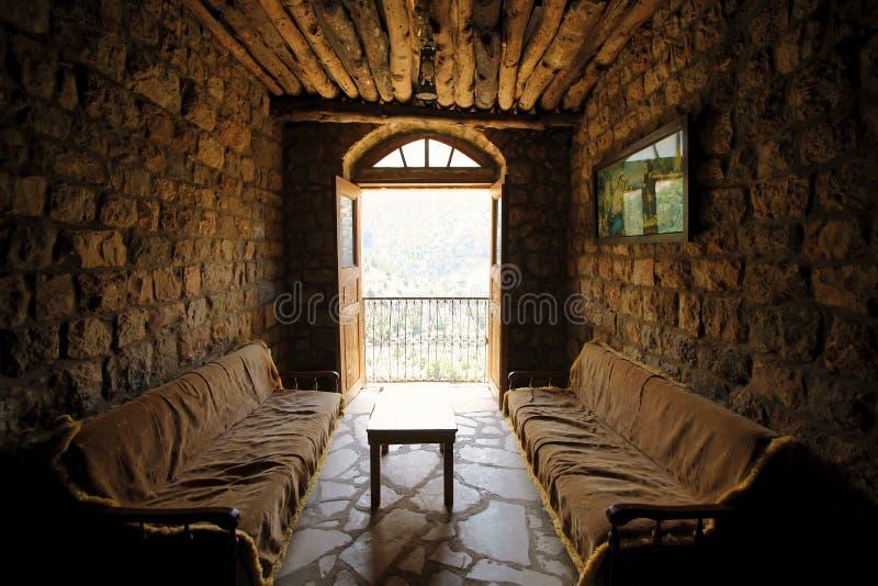 Monastero di Elishaa del san, interno. fotografia stock libera da diritti