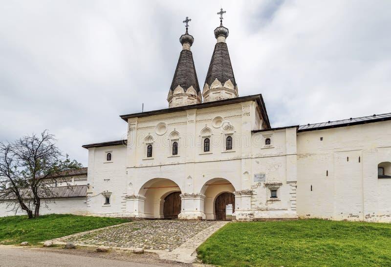 Monastero di Ferapontov, Russia immagine stock libera da diritti