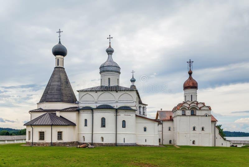 Monastero di Ferapontov, Russia fotografie stock libere da diritti