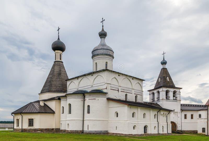 Monastero di Ferapontov, Russia immagini stock