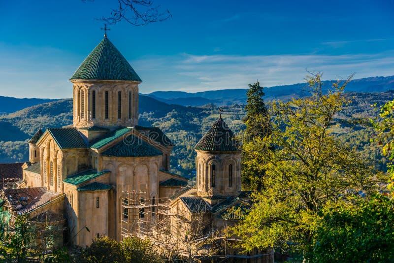 Monastero di Gelati vicino a Kutaisi, Georgia fotografie stock