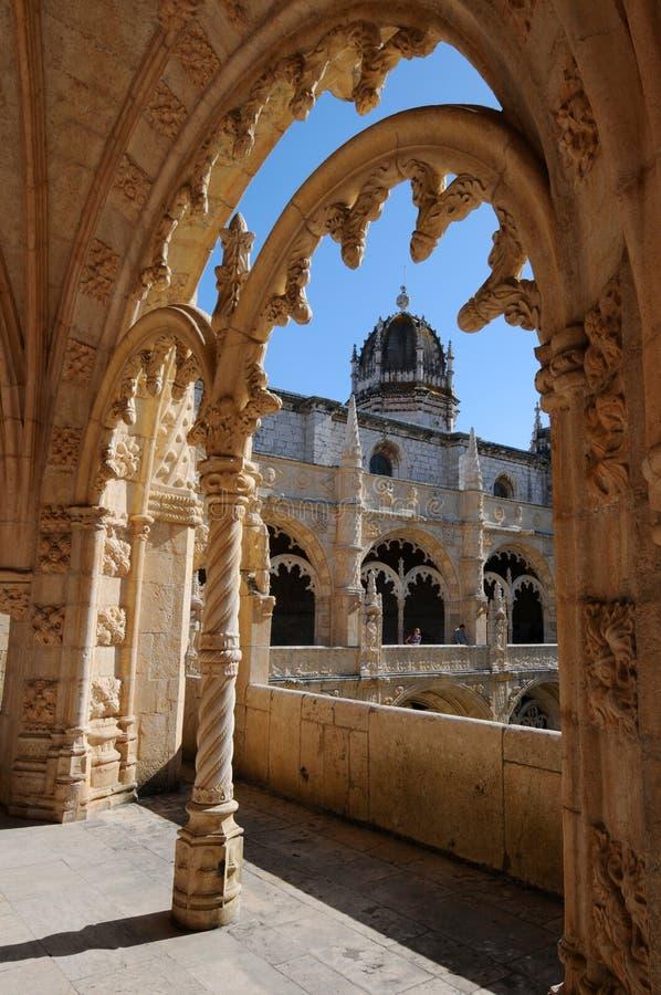 Monastero di Hieronymites immagine stock