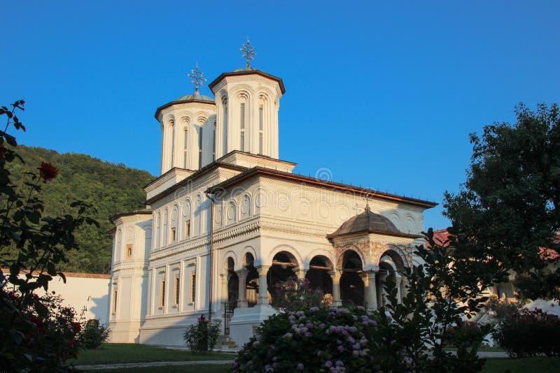 Monastero di Hurezi fotografie stock libere da diritti