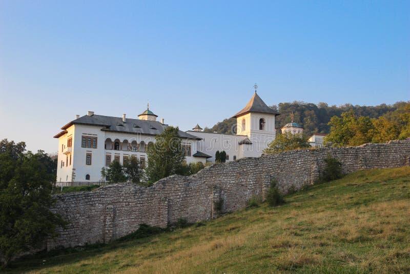 Monastero di Hurezi immagine stock