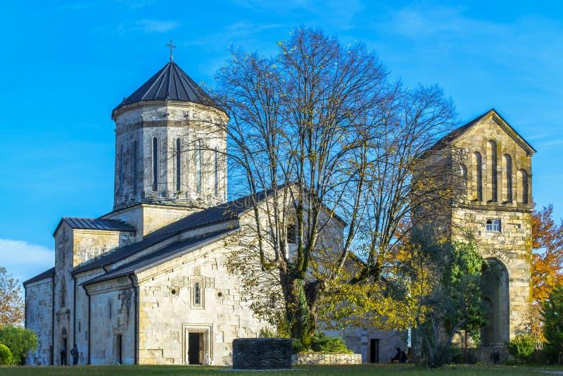 Monastero di Incridible Martvili fotografia stock