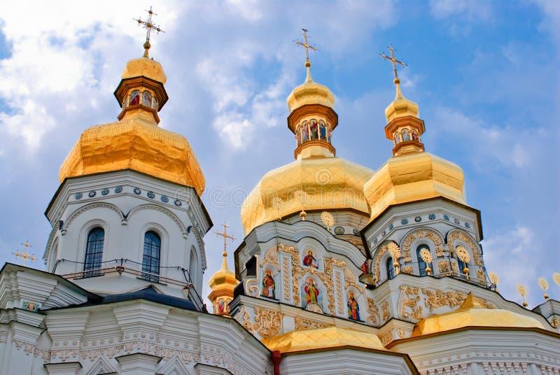 Monastero di Kiev-Pechersk Lavra a Kiev. L'Ucraina immagini stock
