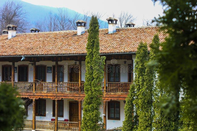 Monastero di Klisura, Bulgaria immagini stock