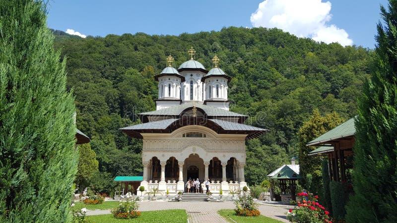 Monastero di Lainici fotografia stock