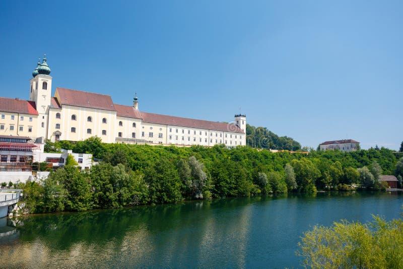 Monastero di Lambach, Austria immagini stock