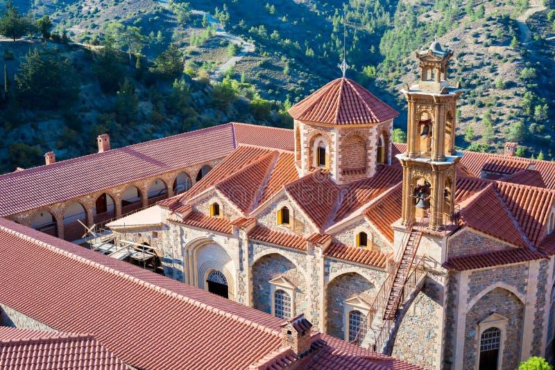 Monastero di Machairas Distretto di Nicosia cyprus fotografie stock