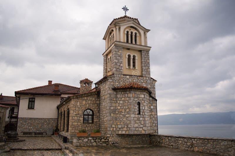 Monastero di Naum del san fotografia stock libera da diritti