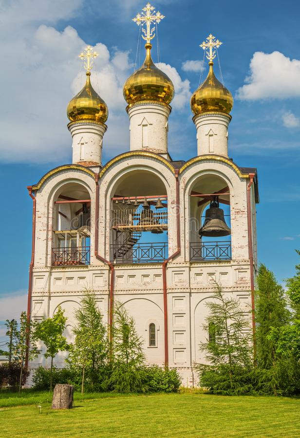 Monastero di Nikolsky in Pereslavl Zalessky immagini stock libere da diritti